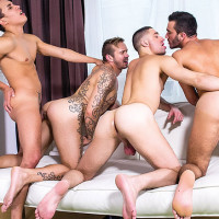 Brice Farmer barebacks with 3 studs