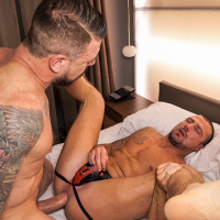 Rocco Steele barebacks Marco Sessions
