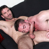Craig Daniel fucks Scott Hunter with his huge cock