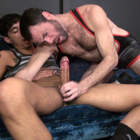 Dusty Williams gets fucked by JD Ryder's big Latin Dick