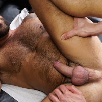 Hot!! Esteban Orive barebacks Sergi Rodriguez with his monstercock