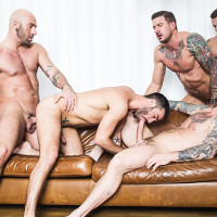 Jump Into Rocco Steele's Breeding Party!